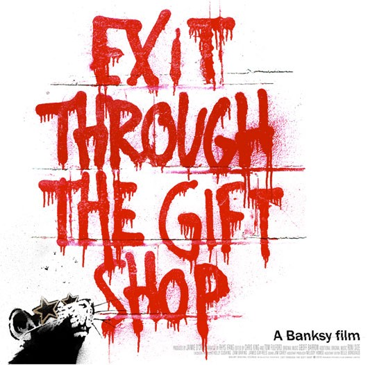 street art in the late 1990s to the present in the film exit through the gift shop Exit through the gift shop trailer (2010) in the late 1990s, a hybrid form of graffiti began appearing in cities around the world enlisting stickers, stencils, posters, and sculpture and spread by the burgeoning internet, it would be labeled street art and establish itself as the most significant counterculture movement of a generation.