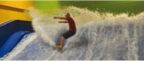 Indoor Surfing At Salomon Center Get Out Salt Lake City