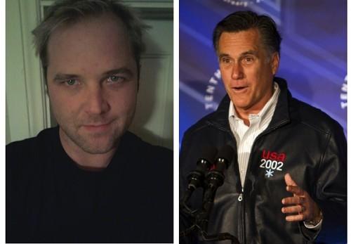 Jason Williams and Mitt Romney