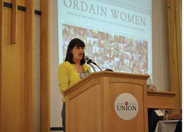 Kate Kelly speaking at Sunstone Symposium - RACHEL PIPER