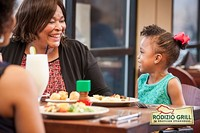 Kids Eat Free Mondays nights in April at Rodizio Grill