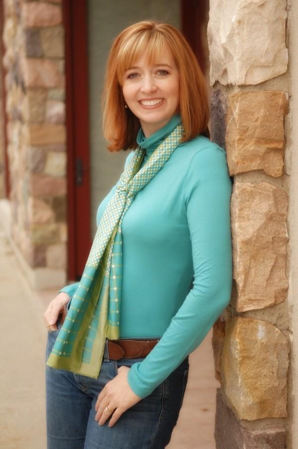 Local author Shannon Hale