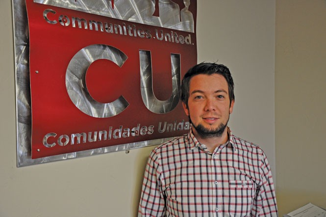 Luis Garza, executive director of Latino-advocacy nonprofit Comunidades Unidas