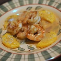 Monday Meal: Butter Poached Prawns