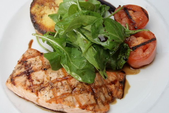 Oasis Grilled Salmon