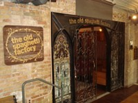 The Old Spaghetti Factory Restaurant in downtown Salt Lake City