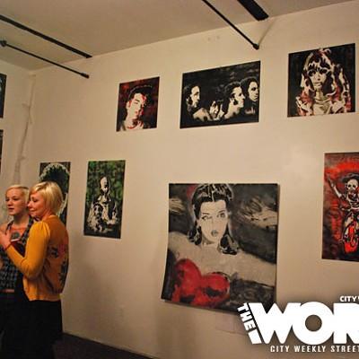 Original Hooligan Art Show at Ulysseys (10.24.10)