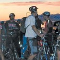 Outdoors | Cycles of the Moon: A personal log of an annual late-night bike ride across Antelope Island