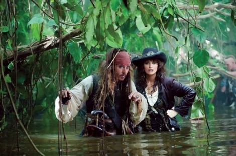 Pirates of the Caribbean: On Stranger Tides: Johnny Depp, Penelope Cruz