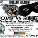 Roller Derby: JCRD Cops vs. Robbers