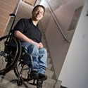 University Union Lacks Wheelchair Access