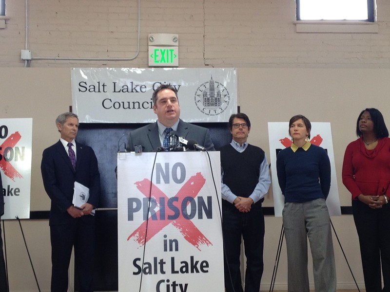 Salt Lake City Council Chair Charlie Luke blasts choice of proposed prison relocation sites in Salt Lake City
