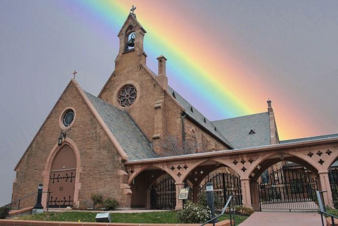 gay friendly church listing nc