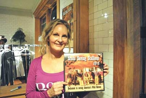 Save the Wild Mustangs president Sonya Richins - RACHEL PIPER