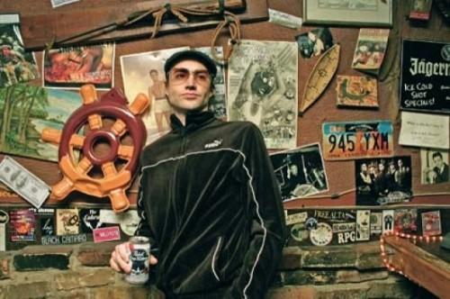 Scott Harker at Burt's Tiki Lounge - RUBY JOHNSON
