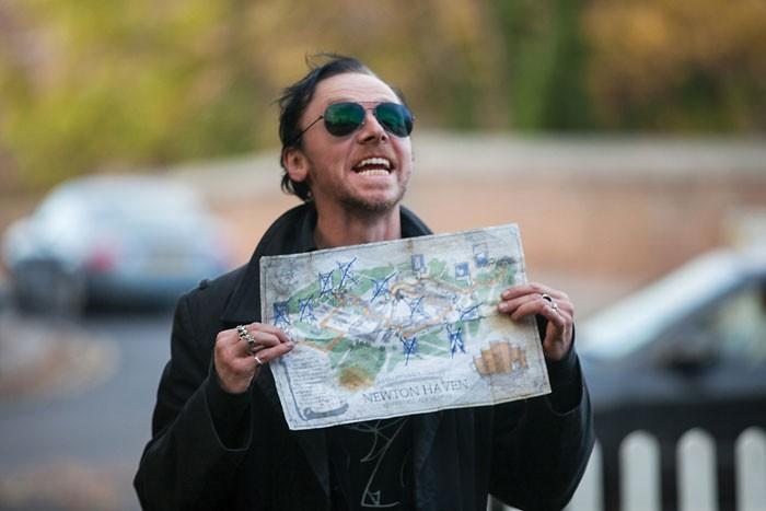 Simon Pegg, FantasyCon