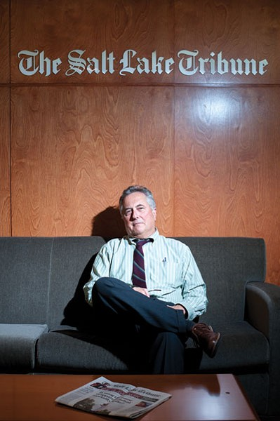 TERRY ORME, TRIBUNE EDITOR & PUBLISHER SINCE FALL 2013 - BY NIKI CHAN