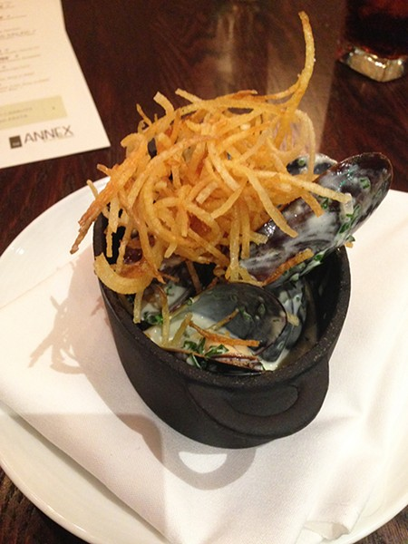 The Annex Steamed Mussels