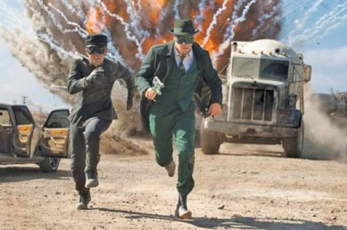 The Green Hornet - JAY CHOU, SETH ROGAN