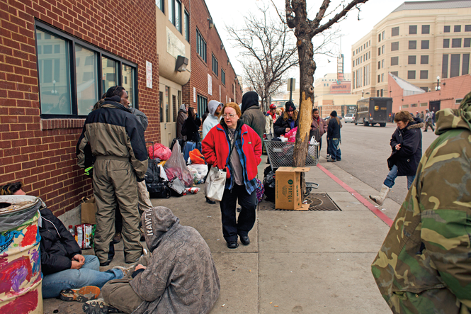 The Road Home homeless shelter (photographed 2013)