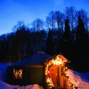 The Viking Yurt at Park City Mountain Resort
