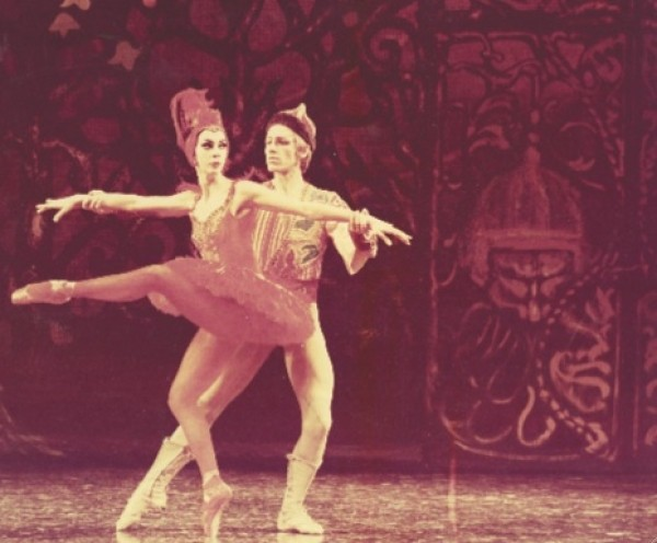 Tomm Rudd and Janice James in original 1967 production of The Firebird