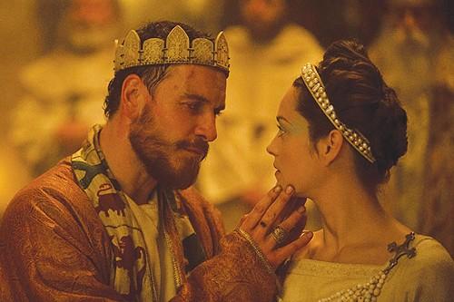 Michael Fassbinder & Marion Cotillard in Macbeth (2015, d. Justin Kurzel)