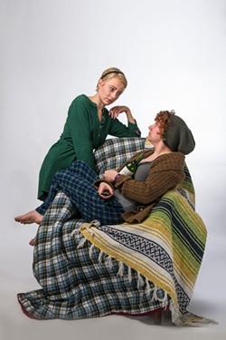 Kaitlin Lemon and Liz Whittaker in Tigers Be Still - ROBERT HOLMAN