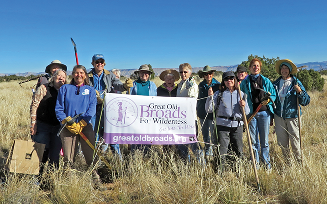 Founded in 1989, Great Old Broads for Wilderness is a grassroots advocacy group that aims to inspire the voices and activism of elders to preserve and protect wilderness and wild lands. - BLM