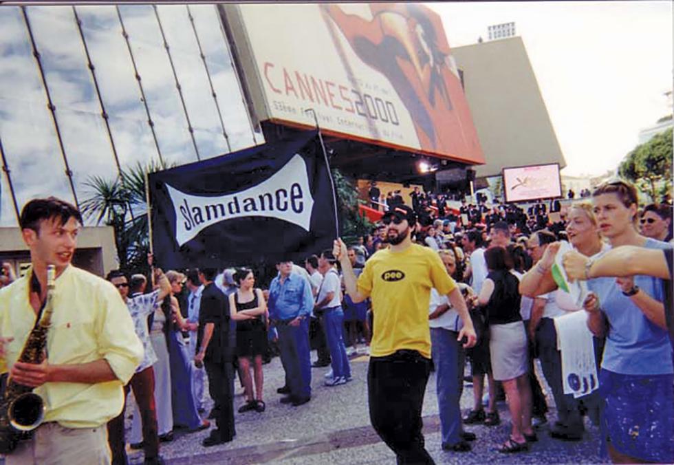 Slamdance visits the 2000 Cannes Film Festival. - DAN MIRVISH
