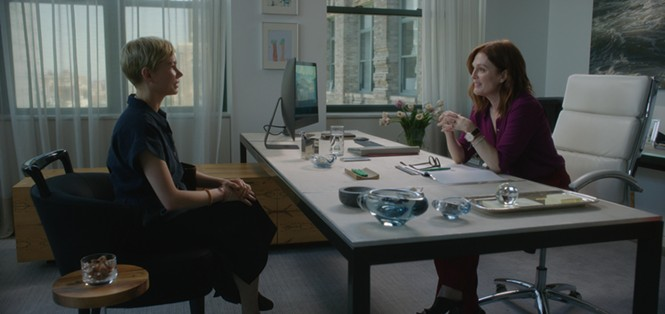 Michelle Williams and Julianne Moore in After the Wedding - SUNDANCE INSTITUTE