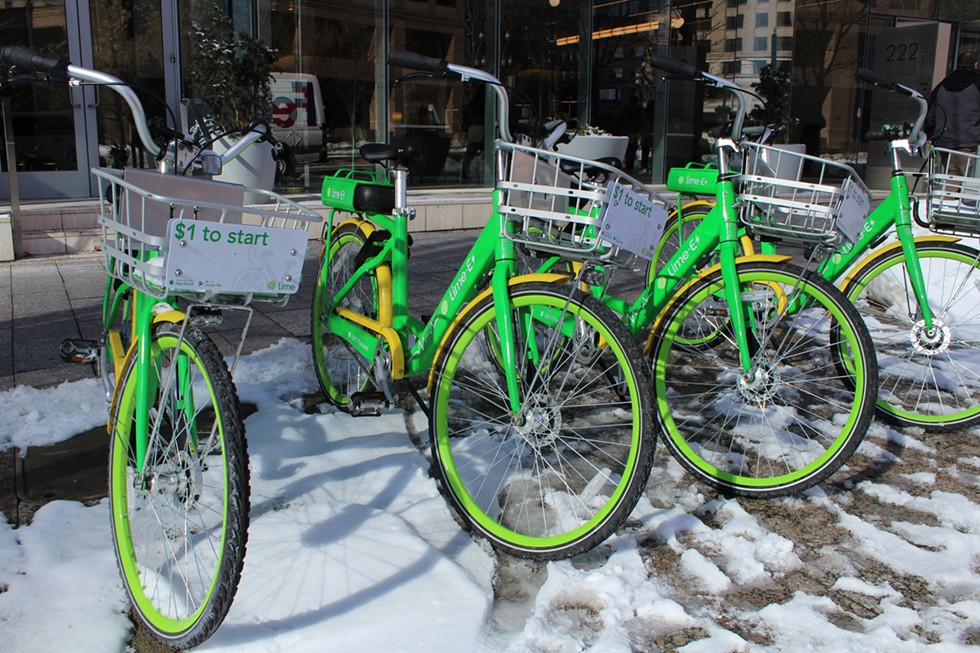 Lime's introduction of bikes last year following its scooter debut will factor into regional standards for the Wasatch Front. - ENRIQUE LIMÓN