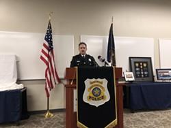 SLC Airport Police Captain Craig Vargo - KELAN LYONS