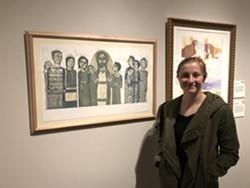 SLC-based artist Sarah Winegar - KELAN LYONS
