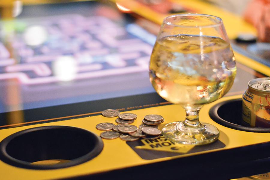Quarters Arcade Bar - JOSH SCHEUERMAN