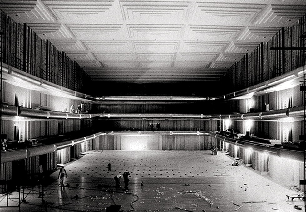Construction of Symphony Hall - ABRAVANEL HALL ARCHIVAL