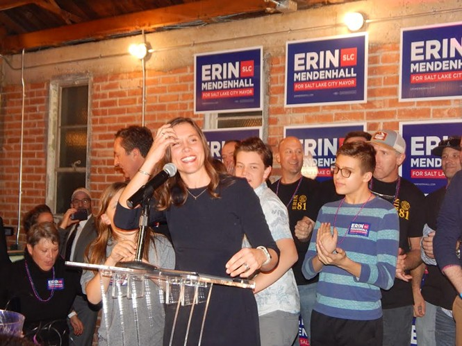 City Councilwoman Erin Mendenhall - PETER HOLSLIN