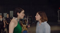 Annie Clark and Carrie Brownstein in The Nowhere Inn
