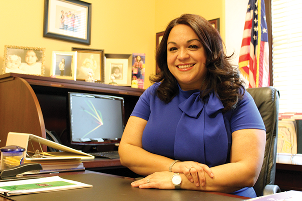 """""""I probably wouldn't think about that, but never say never, right?"""" Escamilla says when asked if she'd consider a mayoral run redo. - ENRIQUE LIMÓN"""