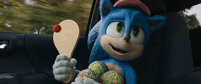 Sonic the Hedgehog - PARAMOUNT PICTURES