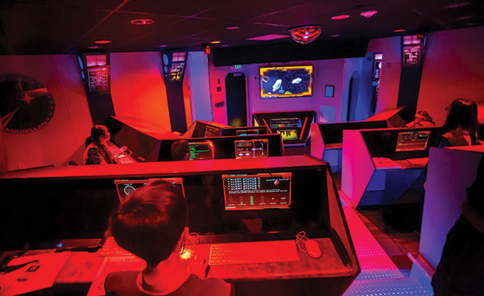 """Tucked away in Pleasant Grove, the Christa McAuliffe Space Center offers group missions, field trips and other """"immersive experiences."""" - COURTESY CHRISTA MCAULIFFE SPACE CENTER"""