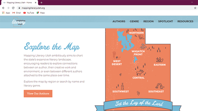 MAPPING LITERARY UTAH