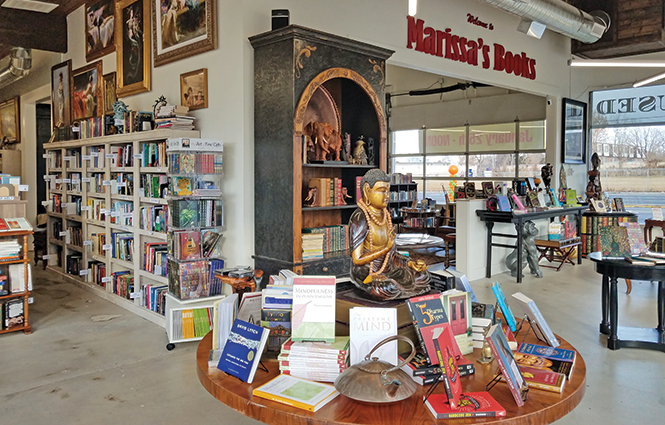 Missing your bookstore? - Enjoy a private shopping experience at  Marissa's Books in  the new ,  more spacious Millcreek location - COURTESY PHOTO
