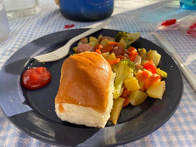 Car-camping cuisine
