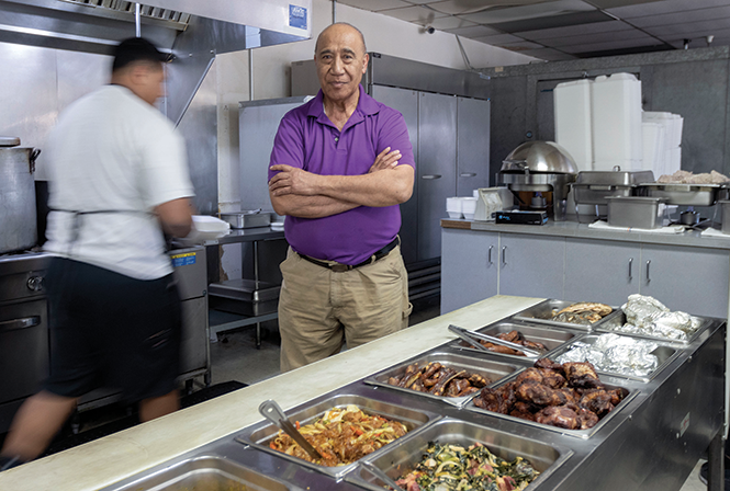 David Lavulo - Pacific Seas Restaurant - NATALIE BEHRING