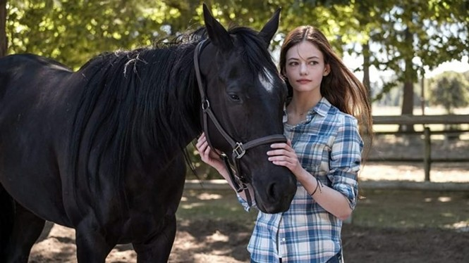 Mackenzie Foy in Black Beauty - DISNEY+