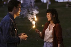 Finn Wittrock and Zoe Chao in Long Weekend - SONY PICTURES