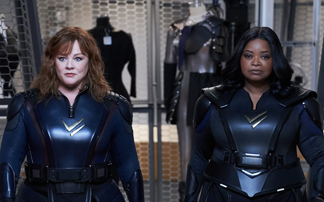 Melissa McCarthy and Octavia Spencer in Thunder Force - NETFLIX