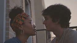 Leyna Bloom and Fionn Whitehead in Port Authority - ENTERTAINMENT ONE