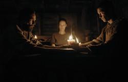 Carel Nel, Monique Rockman and Alex van Dyk in Gaia - NEON FILMS